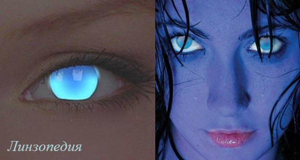 Светящиеся линзы абсолютно безвредны для глаз