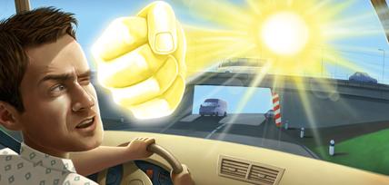 Наибольшую опасность для водителей несет промежуток времени с 11 до 16 часов