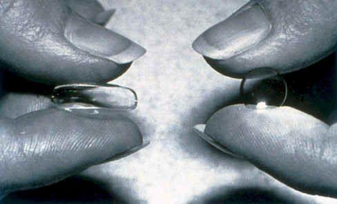 Ночные и мягкие контактные линзы