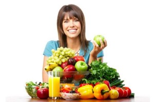 Правильное питание отобразится на лице