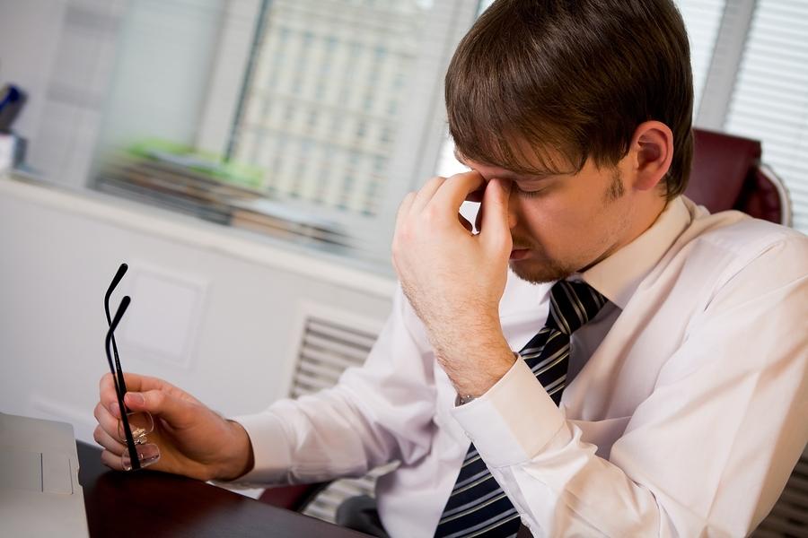 Усталость глаз может возникать из-за неправильно подобранных очков