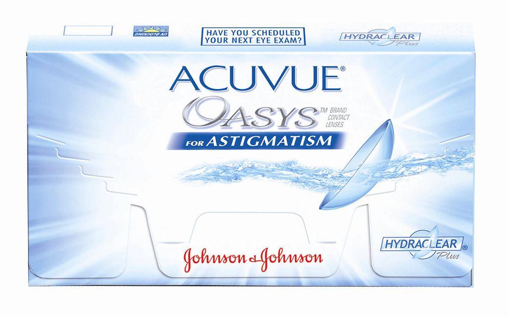 Линзы Acuvue Oasys описание