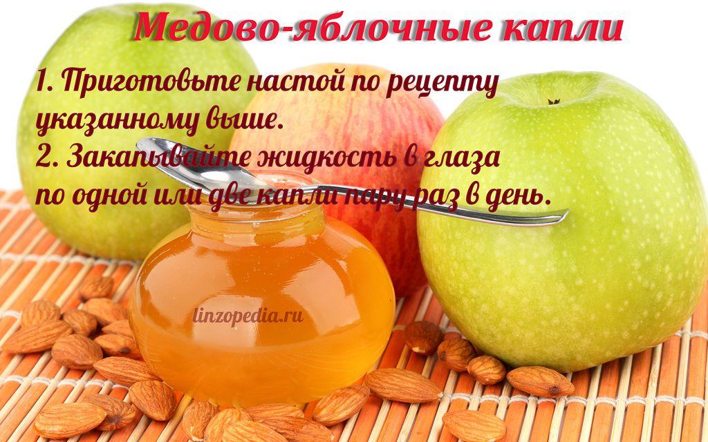 Рецепты капли в глаза с медом