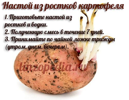 Настой из ростков картофеля