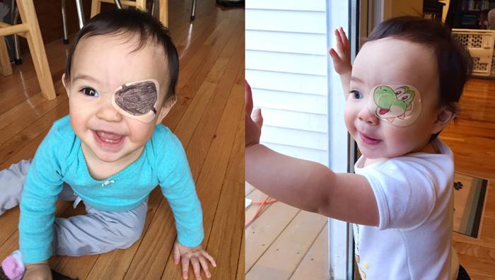 Окклюдер детский для глаз | Записки ОчУмелой Мамочки