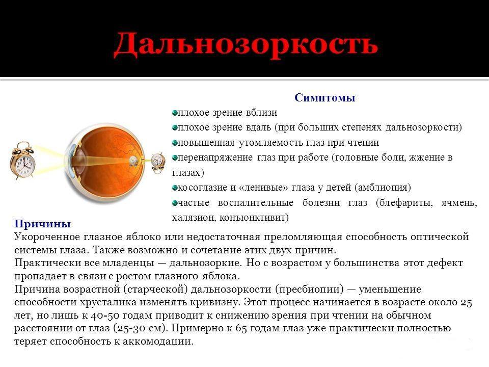 Глазное давление норма 60 лет