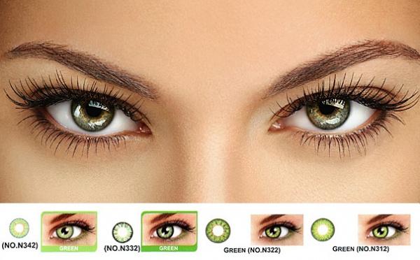 Цветные контактные линзы не рекомендуется носить в ночное время суток