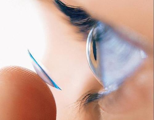 Биосовместимые линзы минимизируют появления реакции и высушивания глаза