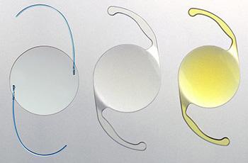 Виды искусственного хрусталика глаза