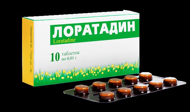 Лоратадин для лечения аллергического конъюнктивита