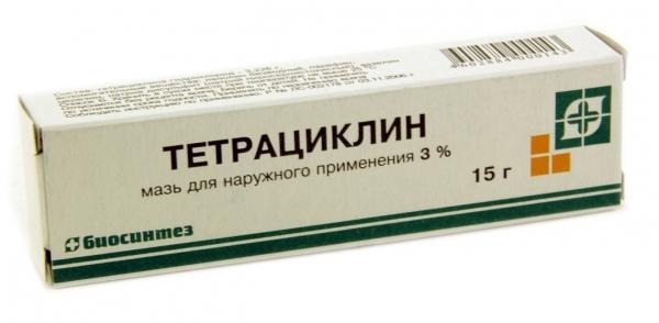 Мазь Тетрациклин для лечения бактериального конъюнктивита