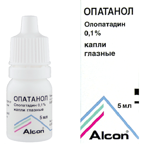 Глазные капли при аллергии глаз