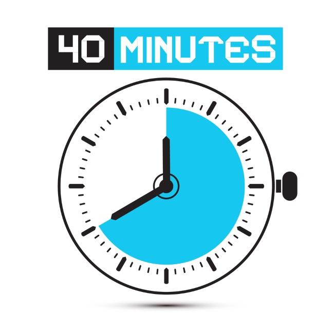Через каждые 40 минут необходимо отдыхать от компьютера