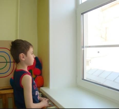 Выполнение упражнения Метка на окне