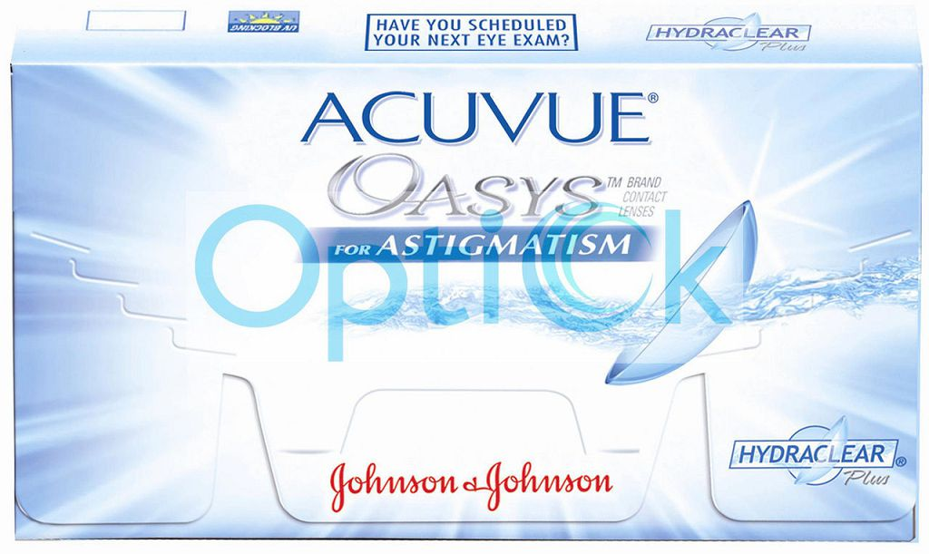 Линейка Acuvue for Astigmatism