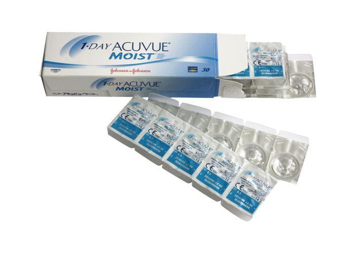 Линзы Acuvue Moist 1-Day 30 шт