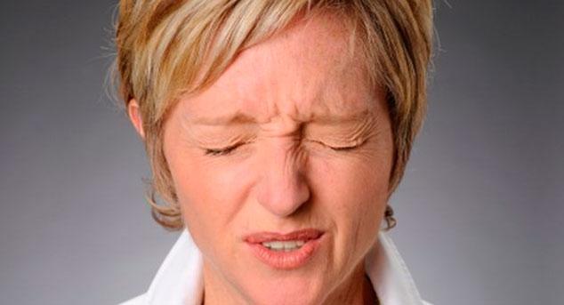 Один из побочных эффектов - сильная резь и жжение в глазах