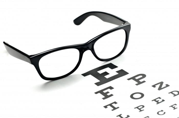 Однотонные очки для зрения