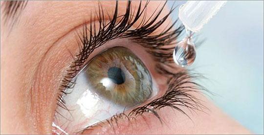 Сульфацил натрия характеризуется быстрым проникновением в ткани зрительного органа