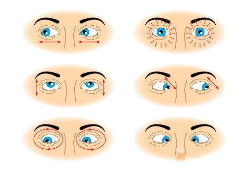 Гимнастика для глаз при работе за компьютером