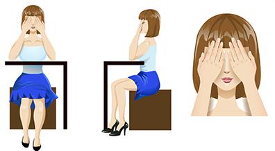 Для первого упражнения Вам понадобится стол и стул