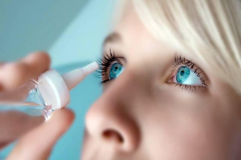 Применение глазных капель Неванак