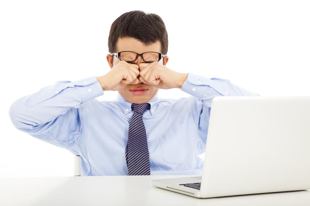 Раздражение глаз при работе за компьютером