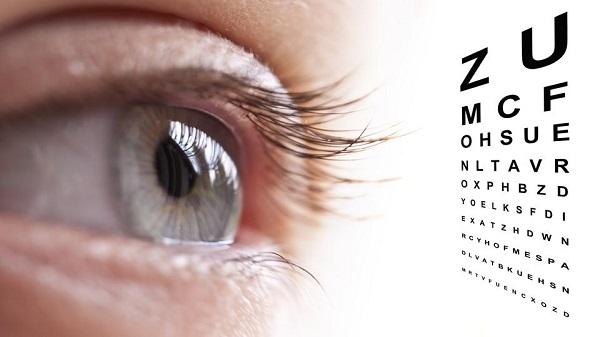 Лист для проверки зрения