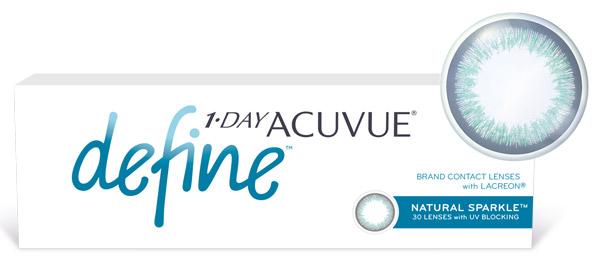 Линзы «1-Day Acuvue Define»