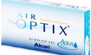 Линзы «Air Optix»: описание, преимущества, цены