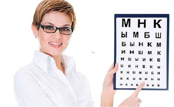 Правила проверки зрения с помощью компьютера