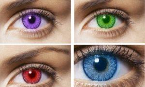 Цветные линзы: какие бывают и сколько стоят
