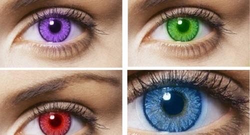 Цветные линзы какие бывают и сколько стоят
