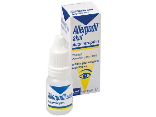 Действие капель Аллергодил – противоаллергическое