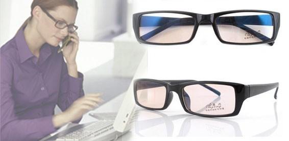 Защитные очки для работы за компьютером помогают снизить нагрузку на глаза