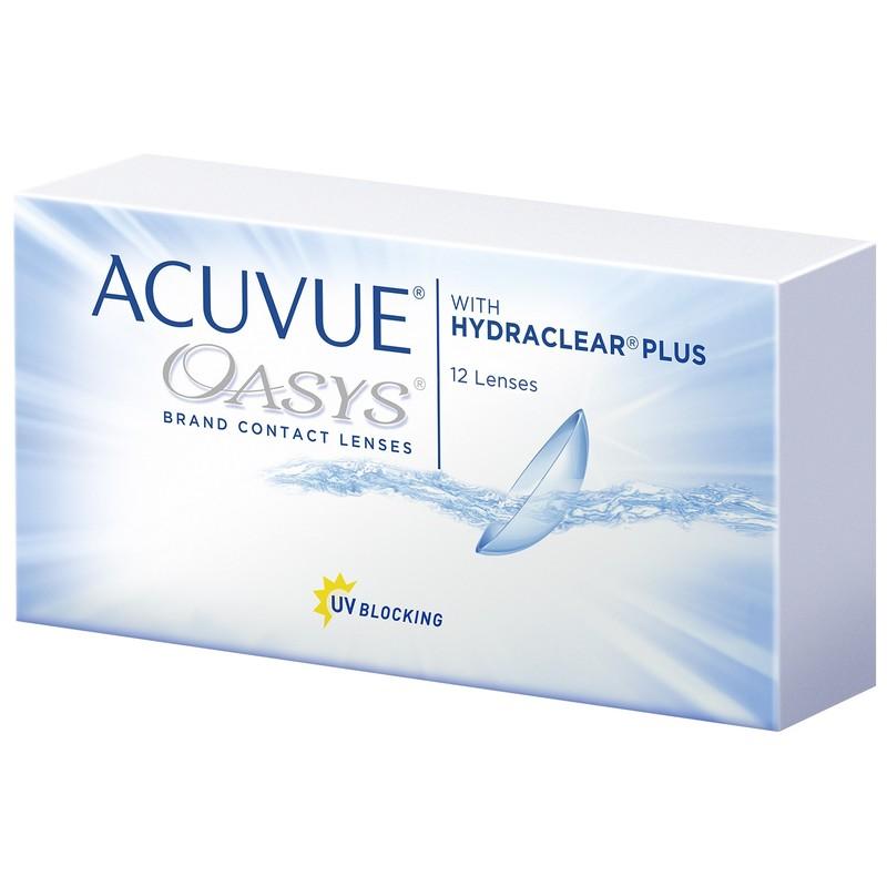 Линзы торговой марки Acuvue