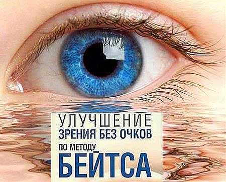 Метод Бейтса — непризнанный наукой немедикаментозный метод восстановления зрения