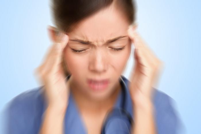 Цикломед может вызвать мигрень и головокружение