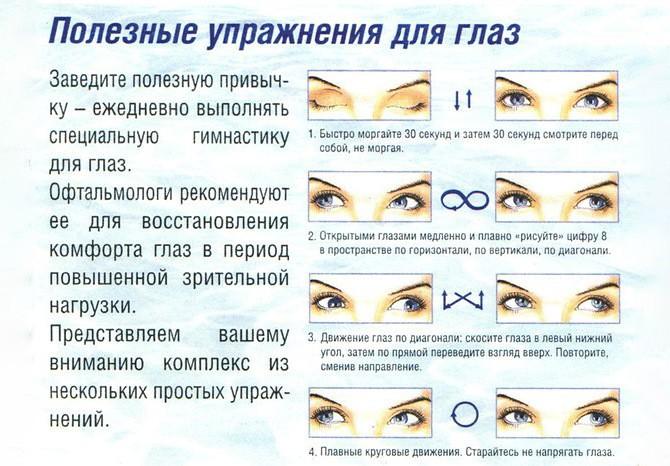 Упражнения восстановления зрения при близорукости