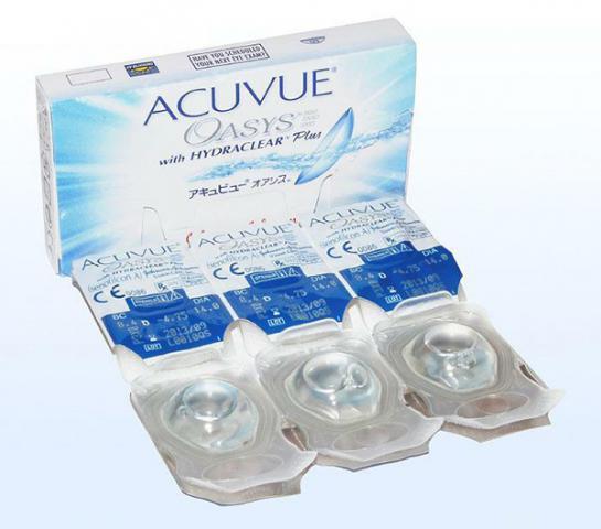 Блистеры в 1 упаковке Acuvue