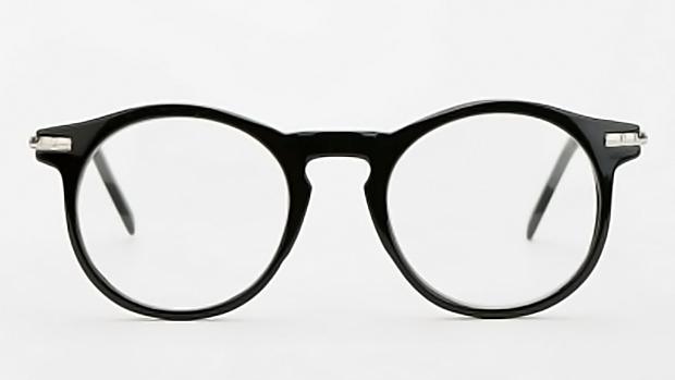 Винтажные очки в круглой оправе