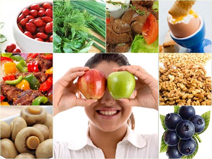 Восстановить зрение поможет правильное питание