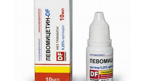 Глазные капли Левомицетин: описание, цены, аналоги