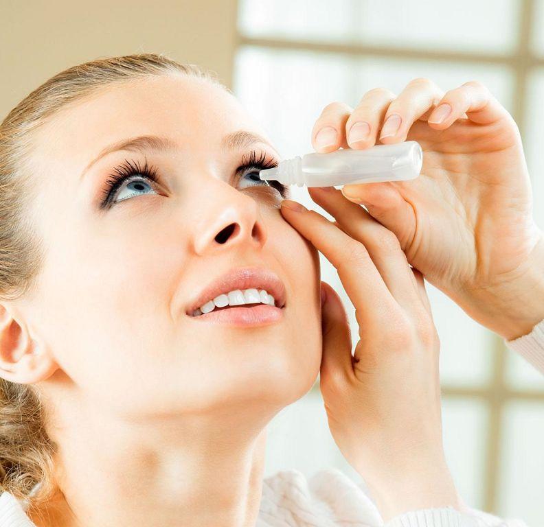 Глазные капли от покраснения: основные виды препаратов