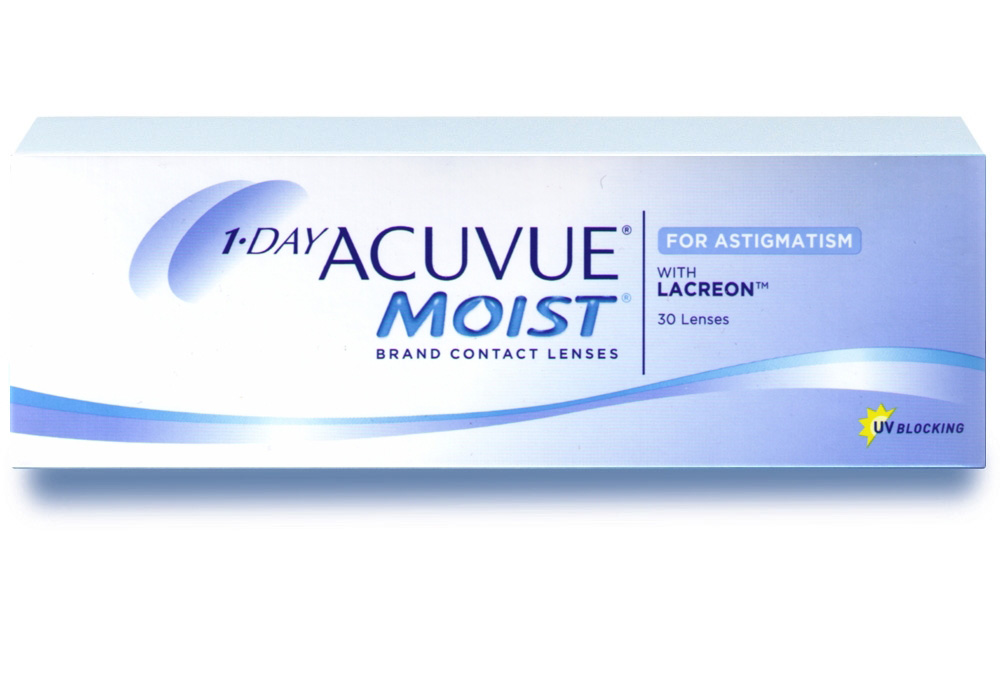 Линзы Acuvue Moist 1-Day