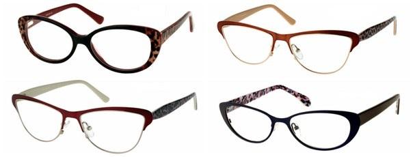 Очки для зрения с животными принтами