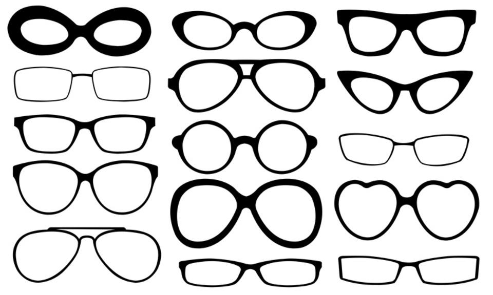 Разновидности оправы для очков