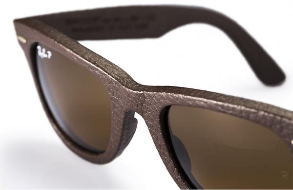Стильные мужские очки из кожи
