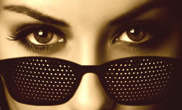 Чтобы добиться хорошего эффекта, носите очки регулярно