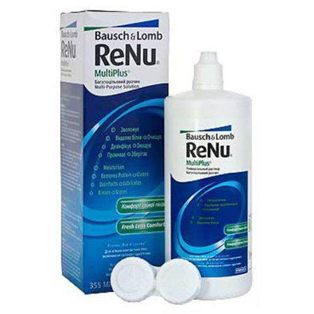 Renu MultiPlus с формулой NoRub производства Bausch{amp}amp;Lomb